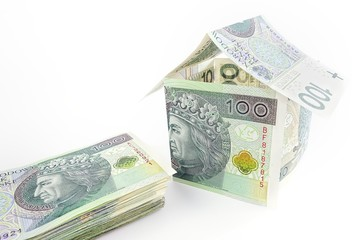 House built with Polish money