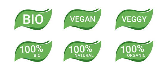 Icon Button Bio Vegan Vegetarisch