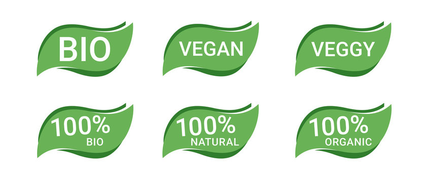 Icon Button Bio Vegan Vegetarisch