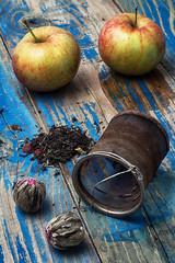 fruit custard varieties of tea