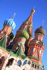 Wall Mural - St. Basil's cathedral in Moscow
