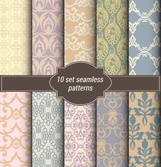 damask seamless patterns wallpapers