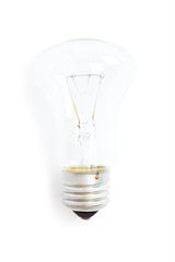 lamp isolated on a white background