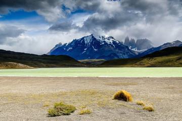 lac amarga à Torres del Paine