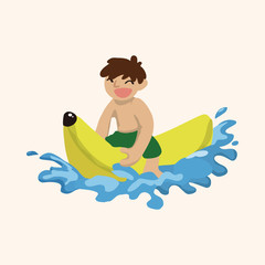 Water Sports theme elements