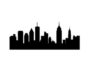 city silhouette 3