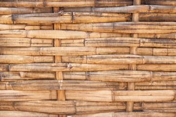 woven bamboo background