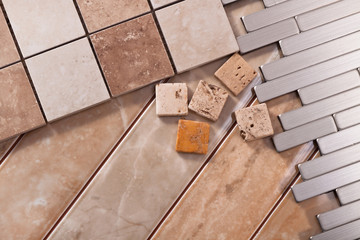 Tiles for interior design apartments