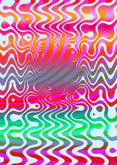 A colorful psychedelic spiral background image.