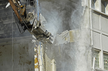 chantier de démolition