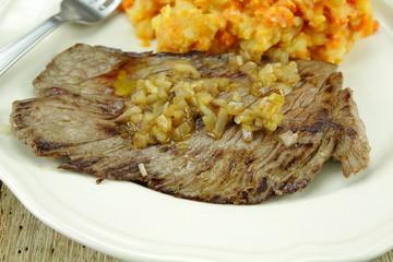 steak à l'échalote
