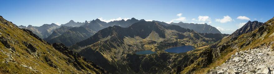 Tatra Mountains - View from Krzyzne Pass