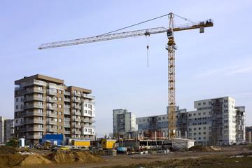 Beginning of building