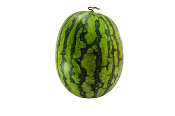 water melon isolate on white background with clipping path