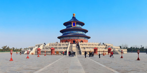 Spoed Fotobehang Peking Temple of Heaven
