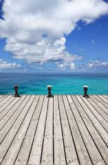 Terrasse am Meer