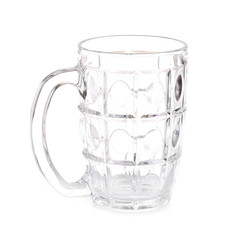 GLASS blank white background with a handle