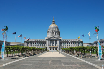 Photo sur Plexiglas San Francisco San Francisco City Hall
