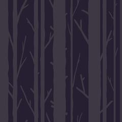 Modèle sans couture d& 39 arbres