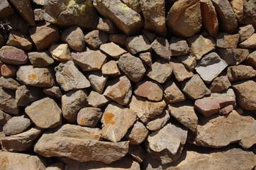 Natursteinmauer auf Fuerteventura