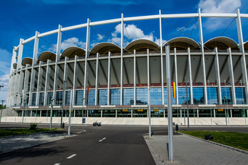 Spoed Fotobehang Stadion National Arena Stadium