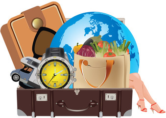 valigia viaggi