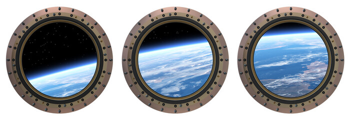Space Station Portholes