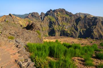 Mountain landscape of Madeira island, Portugal