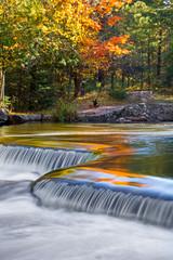 Autumn Colors at Bond Falls