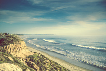 Encinitas California Ocean Shore Wall mural