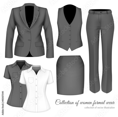 d4a4ba3453 The Outfits for the Professional Business Women.