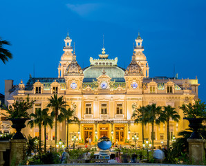 MONTE CARLO - JULY 4: Monte Carlo casino in Monaco on July 4, 20
