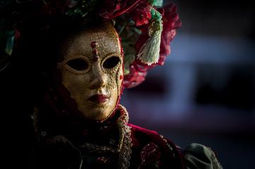 Masque de carnaval vénitien
