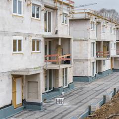 Neue Eigentumswohnungen werden gebaut