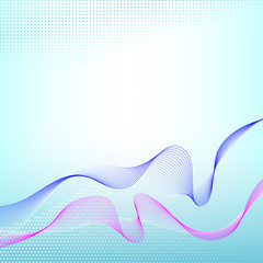 Abstract wave background.