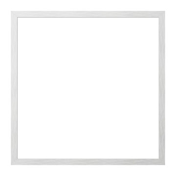 Picture frame, metal brushed
