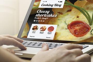 home computing cooking blog