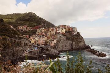 city on the coast