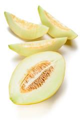 yellow melon slices