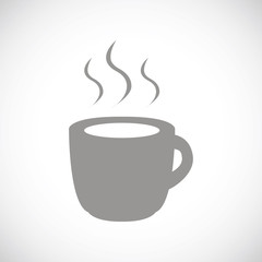Coffee black icon