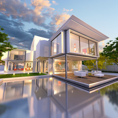dream house front