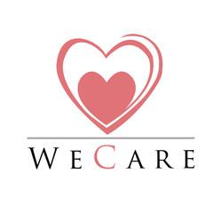 Heart shaped logo