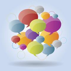 Speech bubble group