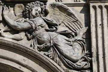 Détail de l'église Saint Martin à Paris