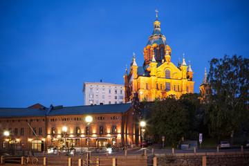 Wall Mural - Upenski cathedral Helsinki Finland