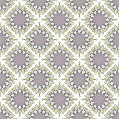 Seamless mosaic geometrical pattern background