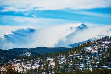 Wall Mural - Winter Colorado Rockies