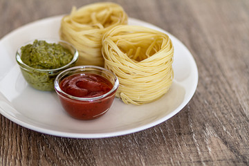 Pasta and Sauces