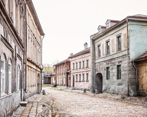 Ancient russian street