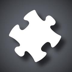 Vector puzzle icon
